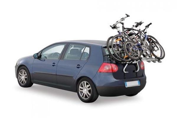 Nosač za bicikle - montaža na gepek